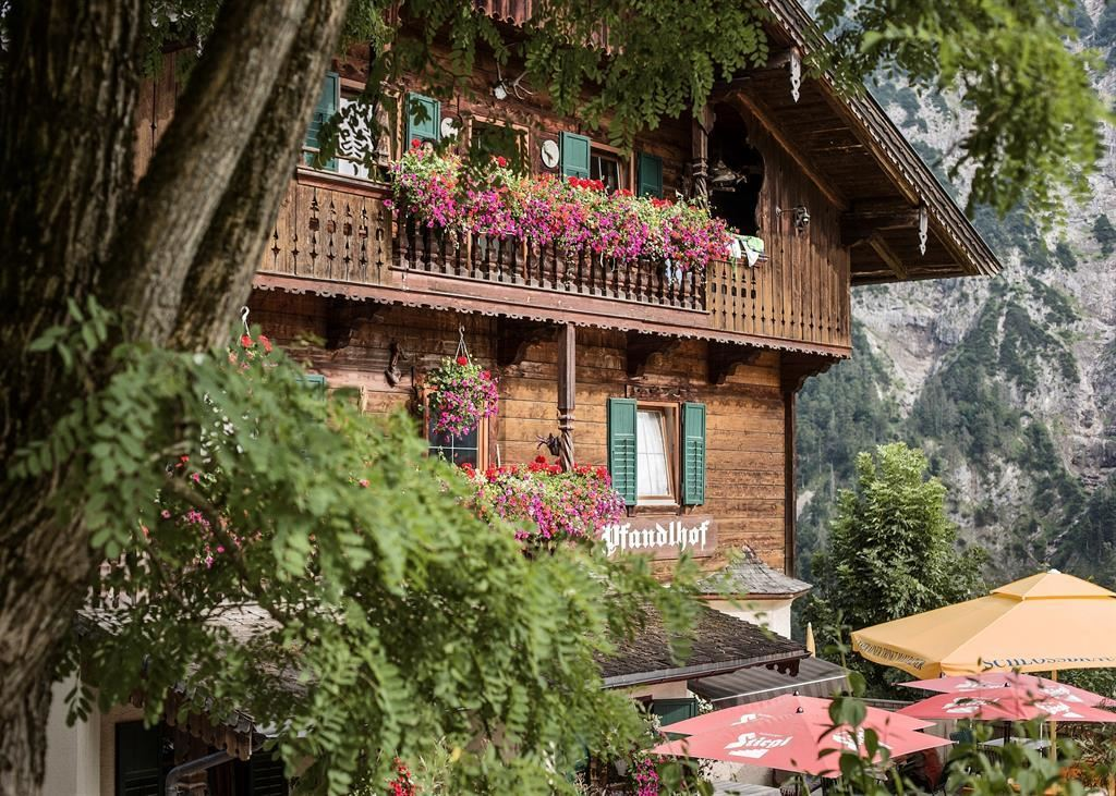 Mountain inn Pfandlhof